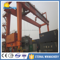 double girder travelling gantry crane with heavy duty