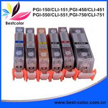 PGI-550/CLI-551 Refillable ink cartridge for IP7250