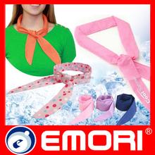 Custom printed logo pattern fashion magic neck cool scarf