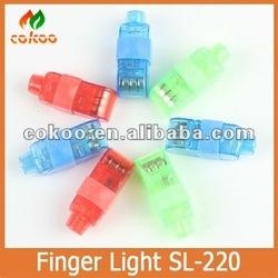 2016 New desihn Bright LED Finger Ring Light For Party KTV Bar gift Wholesale