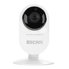 ESCAM Ant QF605 Mini Wi-Fi IP Camera - 1/4 Inch CMOS Sensor, Night Vision, IR Cut, Two Way Audio, ONVIF 2.0, Motion Detection