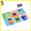 Polyester and PVC kids cute rugs factory straw carpets for home bedroom carpets