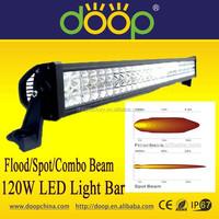 21.5inch Side Mounting 120W LED Light Bar Offroad Light Bar 120Lumen/Watt Spot Flood Combo Beam Working Bar Light for Vehicles