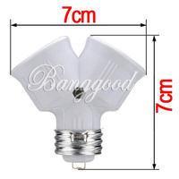 Преобразователь ламп No 2 /E27 E27 E27 to 2X E27 Bulb Splitter