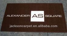Brand rubber carpet