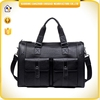 High quality men's business genuine leather travel bag , hand carry bag