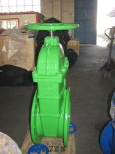 Plastic cast steel rising stem gate valve with great price