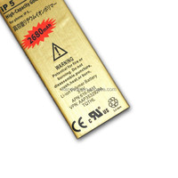 Hot Sale 3.7V 2680mAh High Capacity Top Quality Gold Battery Mobile Phone Replacement Li-ion Battery For iPhone 5