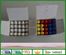 Colored Water Soluble Dustfree Chalk for school writing