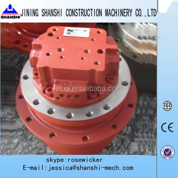 Excavator travel device hydraulic track motor nachi phv 1b for Hydraulic track drive motor
