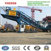 YHZS25, YHZS35, YHZS50, YHZS75 Mobile Ready Mixed Concrete Plant for Sale