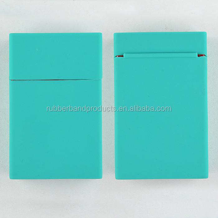 Großhandel kundenspezifische wasserdichte Silikon-Zigaretten-Etui, Gummi Zigarette Hülle Box