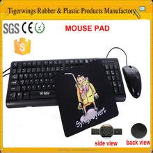 Trade assurance game natural rubber/pu mouse pads