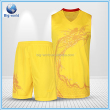 Cheap custom athletic basketball jerseys wear from China factory