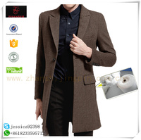 men's wool coat high quality chaep wool outerwear cashmere men coat