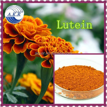 QS certificate Supplying food grade lutein raw material Marigold super Lutein in herbal extract plant extract and free sample