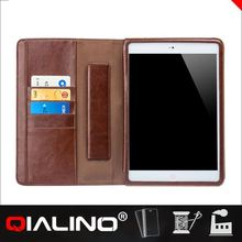 QIALINO 2014 New Luxury leather Case for iPad mini case