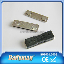 Top quality Small Rectangle Magnetic Metal School Badge