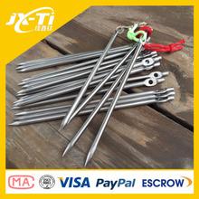 wholesale high strength titanium metal tent pegs