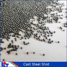 Sand blasting abrasive media steel shot S170 usd for rust cleaning and polishing