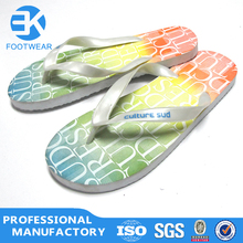 unisex summer beach popular PE rubber sole flip-flop