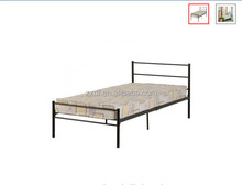 Cheap deisngs Kids single/double/King/queen size colurful metal bed with wood slats