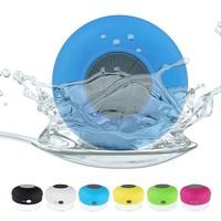 2014 Waterproof Bluetooth Speaker Used In Bathroom,Swimming Pool And On The Beach