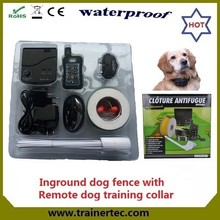 rechargeable pet training electric fence warning sign DF-113R