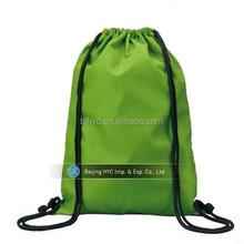 2015 cheap printing Wholesale organic black cotton drawstring bag Custom Drawstring Bag