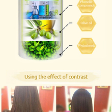DEXE 2015 herbal hair straightening cream/restore hair relaxer with private label