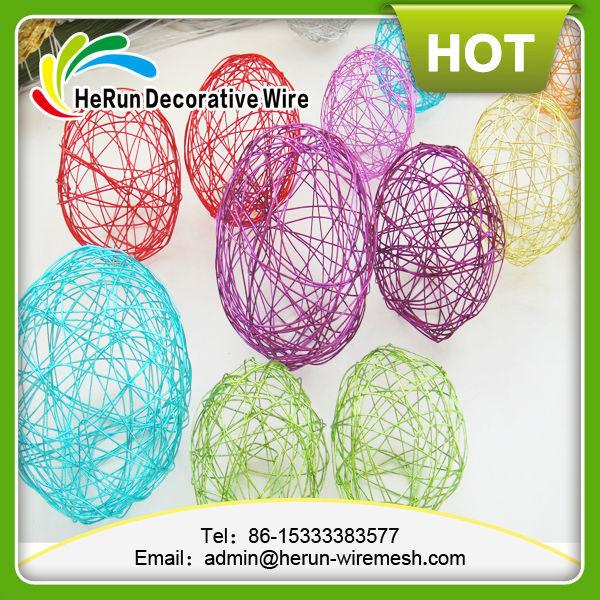 Hr decorative christmas wire mesh balls
