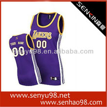 2013New style hot-sell custom sublimation basketball jerseys in guangzhou