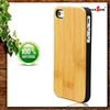 2015 New Arrival Top Selling Brand Bamboo Plastic Case For Iphone
