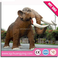 High quality plastic animal life size
