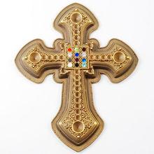3d croce medaglia in lega di zinco oro distintivi