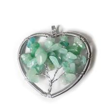 2015 India fashion tree of life stone pendant