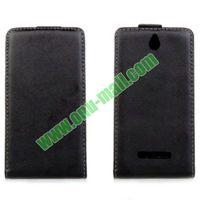 Vertical Flip Leather Case for sony xperia e c1504 c1505 c1605 case