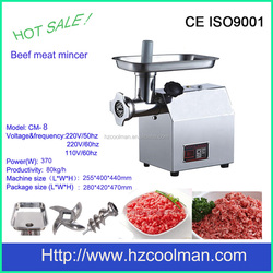 CM-8 Table stainless steel beef mincer with CE