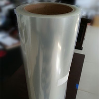 Crystal clear cold lamination film