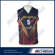 new style cool best latest custom basketball jersey design for player