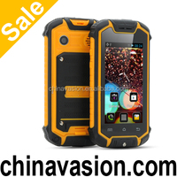 Mini Water Resistant Android Phone with 2.45 Inch Screen, IP53 Rating, Camera (Yellow)