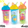 2015 Best Selling Spill proof baby sippy cup/Kids Plastic drink cup/plastic reusable Toddler Cup/Training cup /Leakage Proof