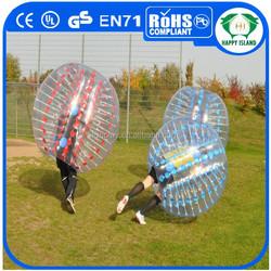 HI Top Quality 1.0mm PVC/TPU giant bubble ball, giant inflatable clear ball, clear glass bubble ball