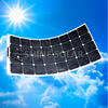 High Efficiency Sunpower Semi Flexible Solar Panel 100W for RV BOAT Marine