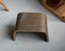 Plywood Chair low stool footrest bentwood wooden furniture for home