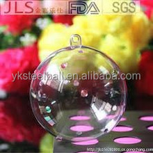 Yuanke large red acrylic hollow openable ball