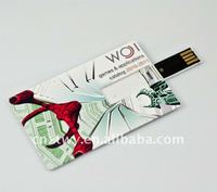1GB MINI promotion credit card usb pen drive