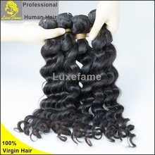 Hot selling 100% unprocessed 6A loose wavy guangzhou factory wholesale brazilian human hair extension