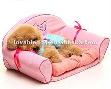 Japan LOVABLEDOG wholesale factory princess pink sofa bed luxury pet dog beds