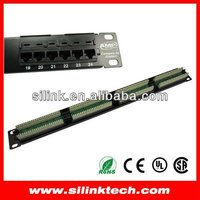 """AMP Patch Panel Cat5e 24 Port For 19"""" Rack Mount"""